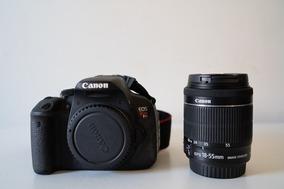 Canon T5i + 18-55 F/3.5-5.6 + Acessórios
