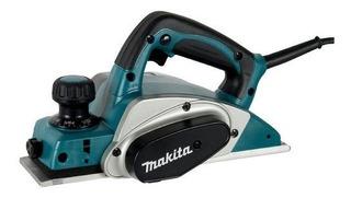 Plaina Elétrica Makita Kp0800k 620w-127v+maleta