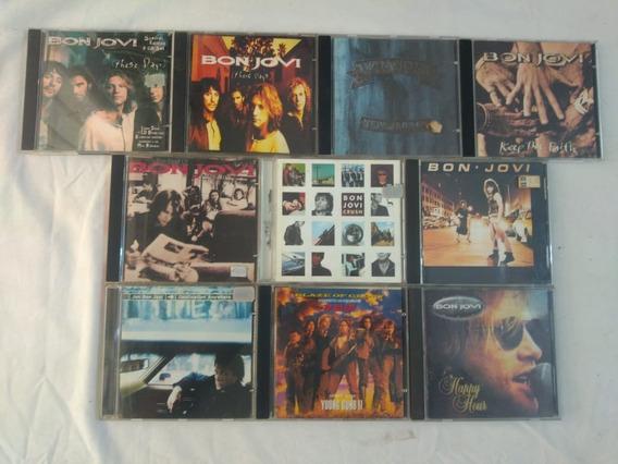 Lote 10 Cds - Bon Jovi Classic - Pop Rock Internacional Raro