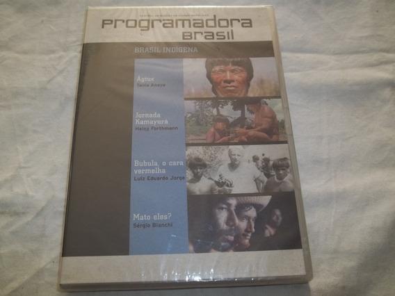 Dvd - Programadora Brasil - Brasil Indígena - Ágtux