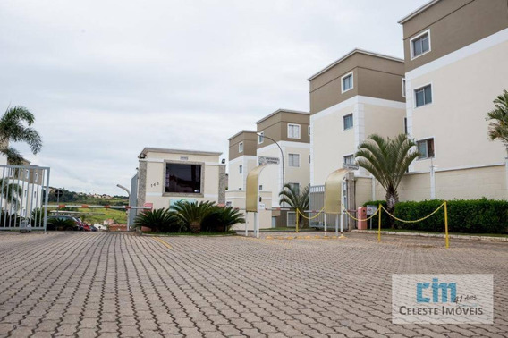 Apartamento Com 2 Dormitórios À Venda, 50 M² Por R$ 135.000 - Vila São Lázaro - Tatuí/sp - Ap0209
