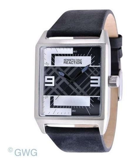 Reloj Kenneth Cole Hombre Quarzo Pulso Cuero