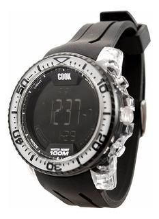 Reloj John L. Cook Deportivo Cod.9400 Envio Gratis