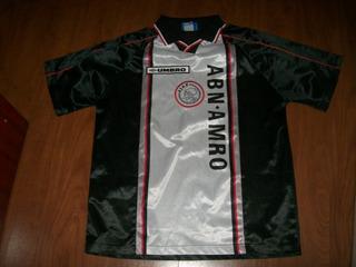 Ajax Suplente 1998/1999 Original Da Época Tam Xl