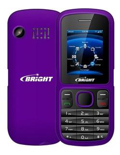 Celular Bright One Barra Dual Chip Câmera