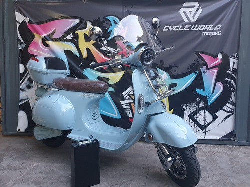 Moto Electrica Sunra Vintage  0km 3000w Litio Baul Parabrisa