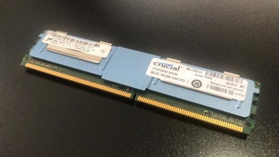 Memoria 8gb (1x8gb) Ddr2 Server Ram Ecc Fb Pc2 5300f Crucial