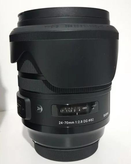 Lente 24-70mm 2.8 Sigma Art