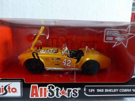 Miniatura Do Shelby Cobra 427 1/24 Maisto Allstars