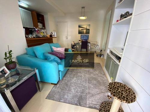 Apartamento Com 1 Dormitório À Venda, 47 M² Por R$ 601.600,00 - Brooklin - São Paulo/sp - Ap47719