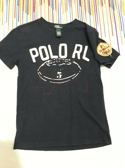 Playera Polo Ralph Laurent Talla 10-12años No Lacoste Nautic