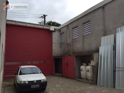 Galpão  Comercial Para Venda E Locação, Jardim Branca Flor, Itapecerica Da Serra. - Ga0011