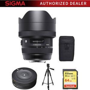 Sigma 12-24mm F4 Dg Hsm Art Lente Para Nikon Con Paquete De