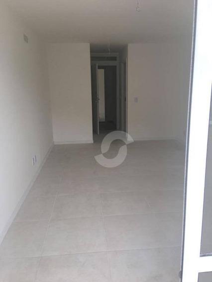 Apartamento Residencial À Venda, Santa Rosa, Niterói. - Ap1124