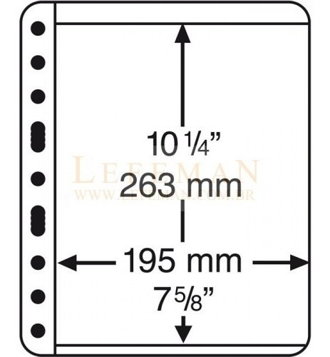 318444 Vario 1c - Folhas Extras Sistema Vario - Pacote Com 5