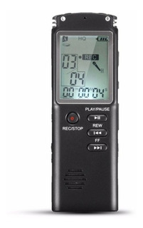 Grabadora Audio - Voz, 32 Gb Recargable Pantalla Lcd Digital
