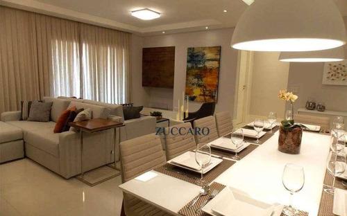 Apartamento À Venda, 170 M² Por R$ 1.064.650,00 - Vila Rosália - Guarulhos/sp - Ap5838