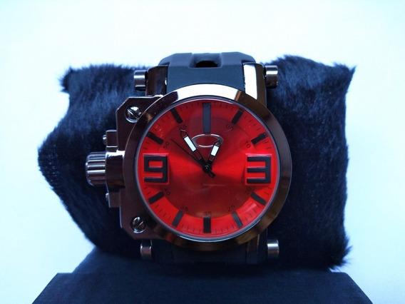 Relógio Oakley Esportivo Novo Despojado Vidro De Titanium