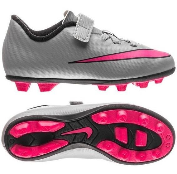 Nike Jr Mercurial Vortex 2 (v) Fg-r Tacos Infantiles Futbol