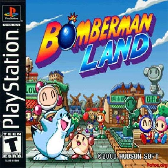 Ps1 - Bomberman Land (japonês E Completo)