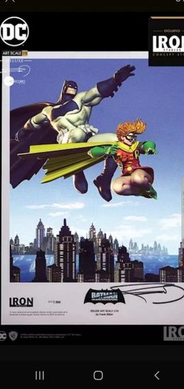 Estatua Batman & Robin Iron Studios (exclusivo)