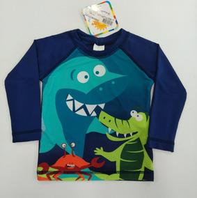904ce435e3 Camiseta Com Proteção Solar Tip Top Moda Praia - Calçados