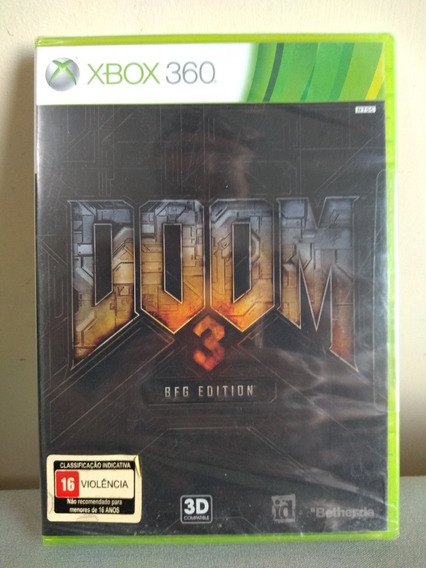 Doom 3 Bfg Edition Xbox 360 Original Lacrado