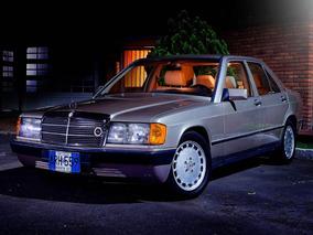 Mercedes 190e / El Mejor. Certificado 99.8%. Placas Azules.