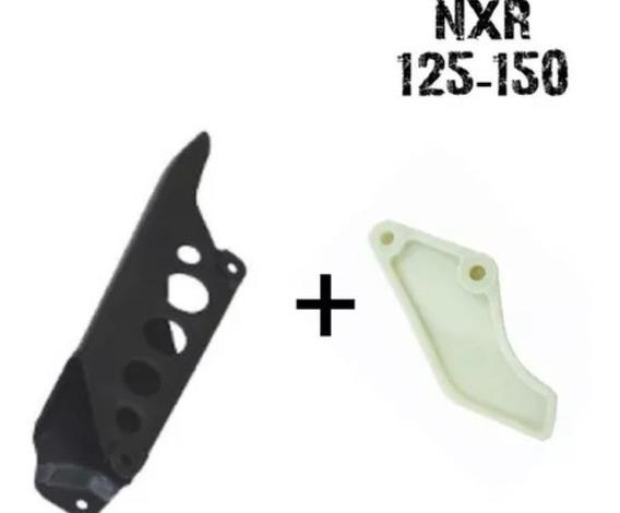 Protetor E Porta Corrente Nxr 125-150 Bros