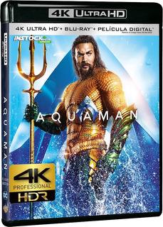 Pelicula Aquaman 4k Uhd Hdr Entrega Inmediata Digital