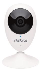 Câmera Ip Intelbras Ic3 Mibo Wifi Hd 720p Com Nota Fiscal