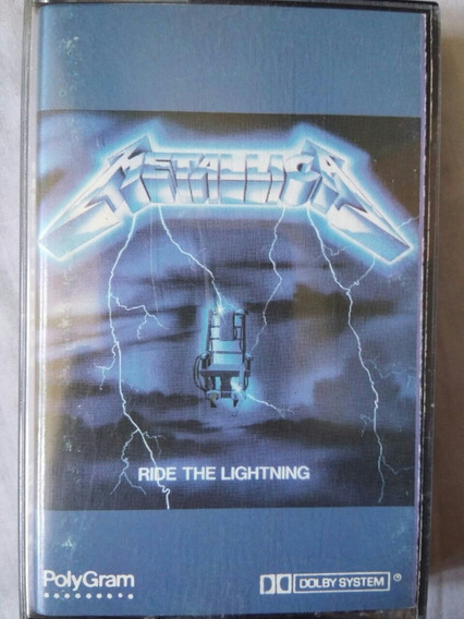 Cassette Metallica - Ride The Lighting