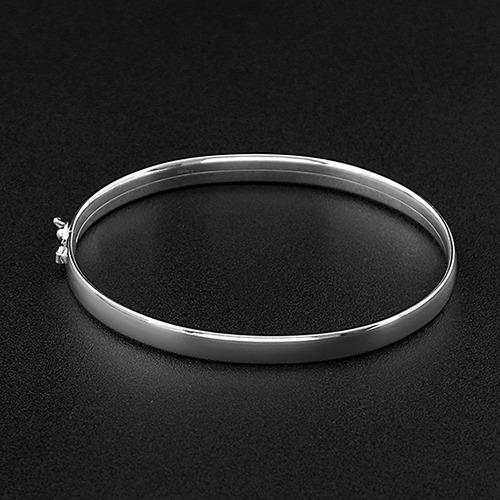 Bracelete, Fio Anatomico 6mm X 20cm, Prata 925 - 121900265