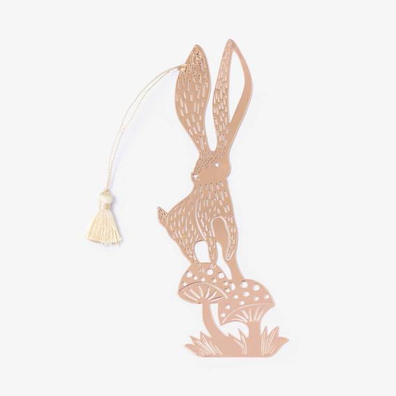 Marcador De Libro Conejo Mujer Lounge