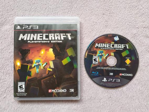 Ps3 - Minecraft Playstation 3 Edition, Americano, Original