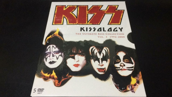 Kissology -ultimate Kiss Collection Vol.3 92/00- 5dvd Nuevos