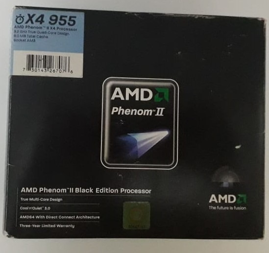 Processador Amd Phenom Ii X4 - Black Edition Processor