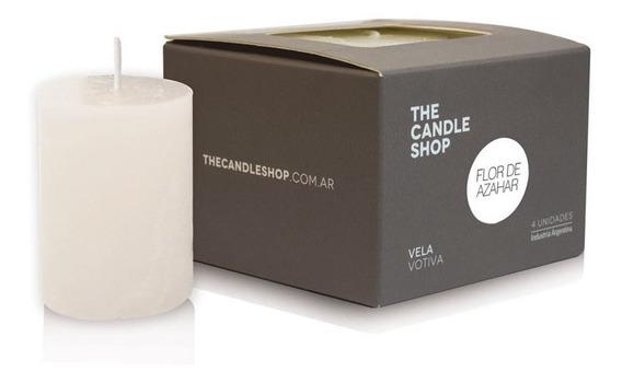 Vela Votiva Aromatica X 4un The Candle Shop
