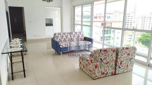 Imagem 1 de 30 de Apartamento À Venda, 154 M² Por R$ 1.180.000,00 - Ponta Da Praia - Santos/sp - Ap2798