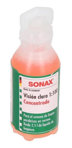 Sonax Shampoo Limpia Parabrisas Visionclara Concentrado 25ml