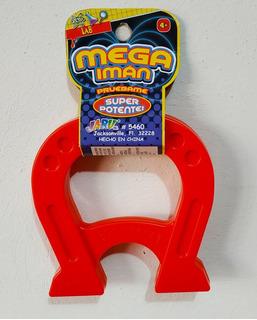 Mega Magnet, Imán De Herradura Juguetes Para Niños, 1 Pieza.