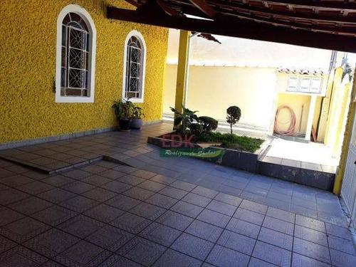 Imagem 1 de 6 de Casa Com 3 Dormitórios À Venda, 233 M² Por R$ 552.000 - Jardim Altos De Santana - São José Dos Campos/sp - Ca6204