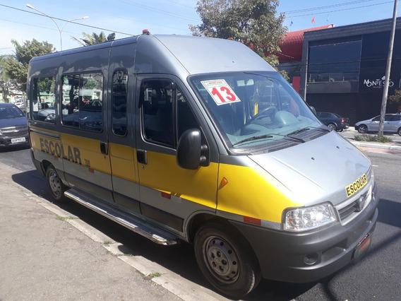 Ducato 2013 Minibus 20 Lugares Escolar- Muito Nova