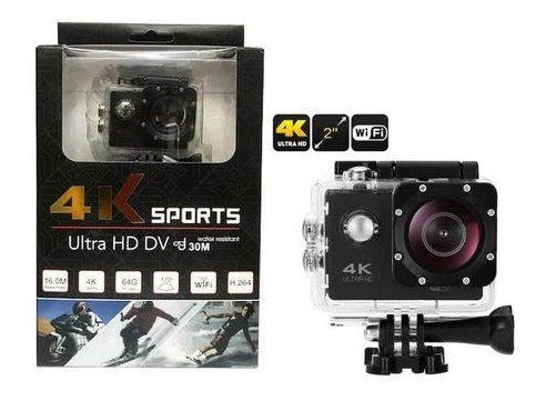 Camera Filmadora Sports 4k Ultra Hd
