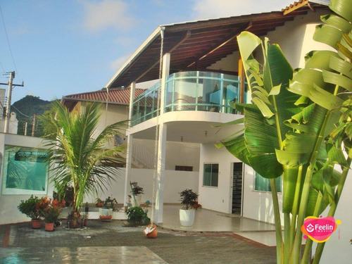 Imagem 1 de 30 de Casa Com 4 Dormitórios À Venda, 743 M² Por R$ 1.800.000,00 - Ribeirão Da Ilha - Florianópolis/sc - Sc - Ca0110_feelin