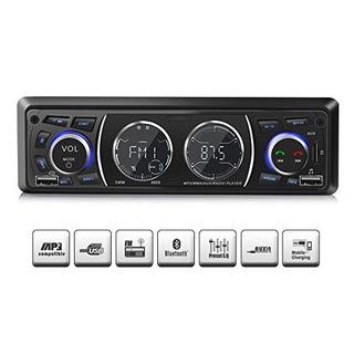 Estéreo Del Coche Con Bluetooth, Radio Del Coche Universal