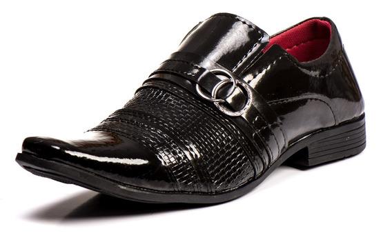 Sapato Masculino Social Envernizado