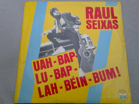 Lp Disco Vinil Raul Seixas - Uah Bap Lu Bap Lah Bein Bum