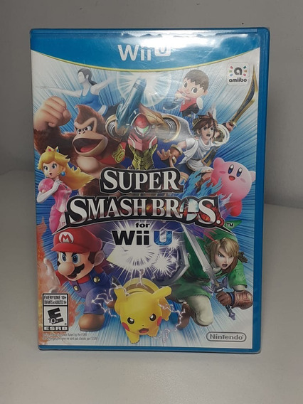 Super Smash Bros Nintendo Wii U - Novo Lacrado Original Usa
