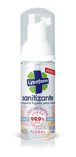 Lysoform Espuma Sanitizante Floral 47cc Farmacia Mag Lacroze
